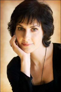 Enya: portrait, chin on hands, for ADWR   promotion