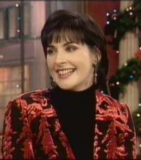 Enya: video capture from Rosie O'Donnell Show
