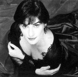 Enya: black and white taffeta gown shot