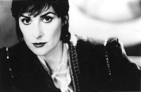 Enya: b/w publicity still for TMOT