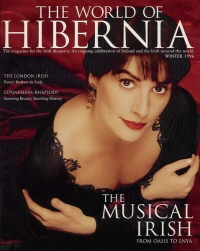 Enya: Cover portrait from World of Hibernia